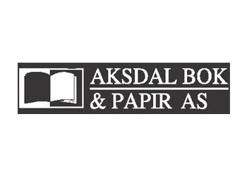 Aksdal bok og papir