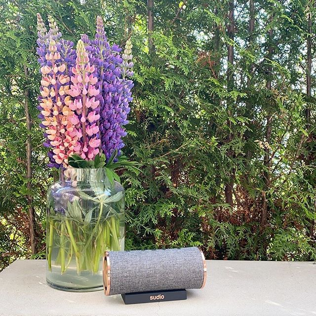We love having an outdoor dance party with Femtio Anthracite! What's your favorite color of Femtio? @sandrasinspiration #sudio #sudiomoments