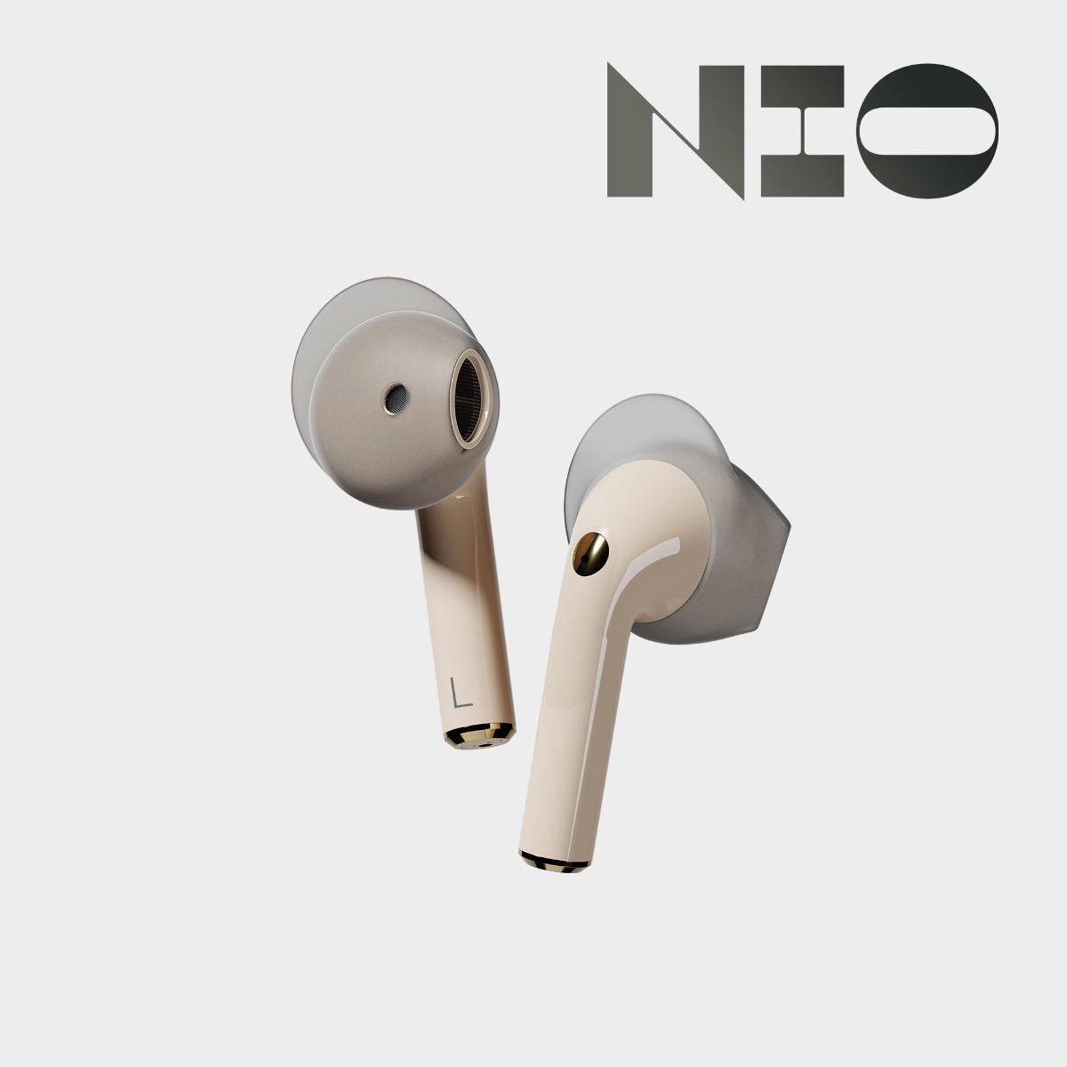 Sudio Nio earbuds earphones wireless IPX4 Adaptive dual-microphone technology wingtips