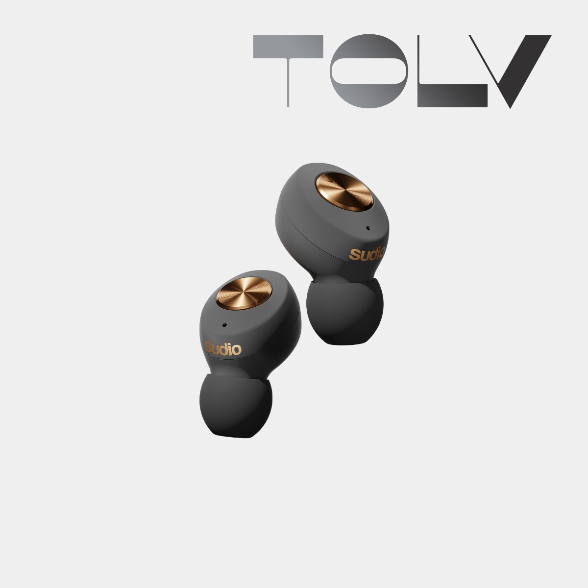 Sudio Tolv earbuds earphones wireless graphene driver