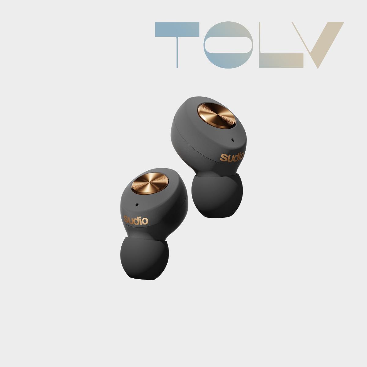 Sudio Tolv 入耳式耳機 藍芽耳機 無線 石墨烯驅動