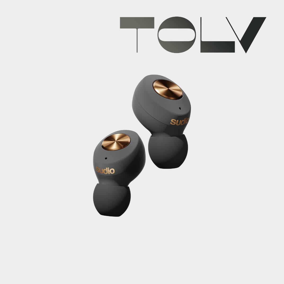 Sudio Tolv earbuds earphones wireless graphene driver